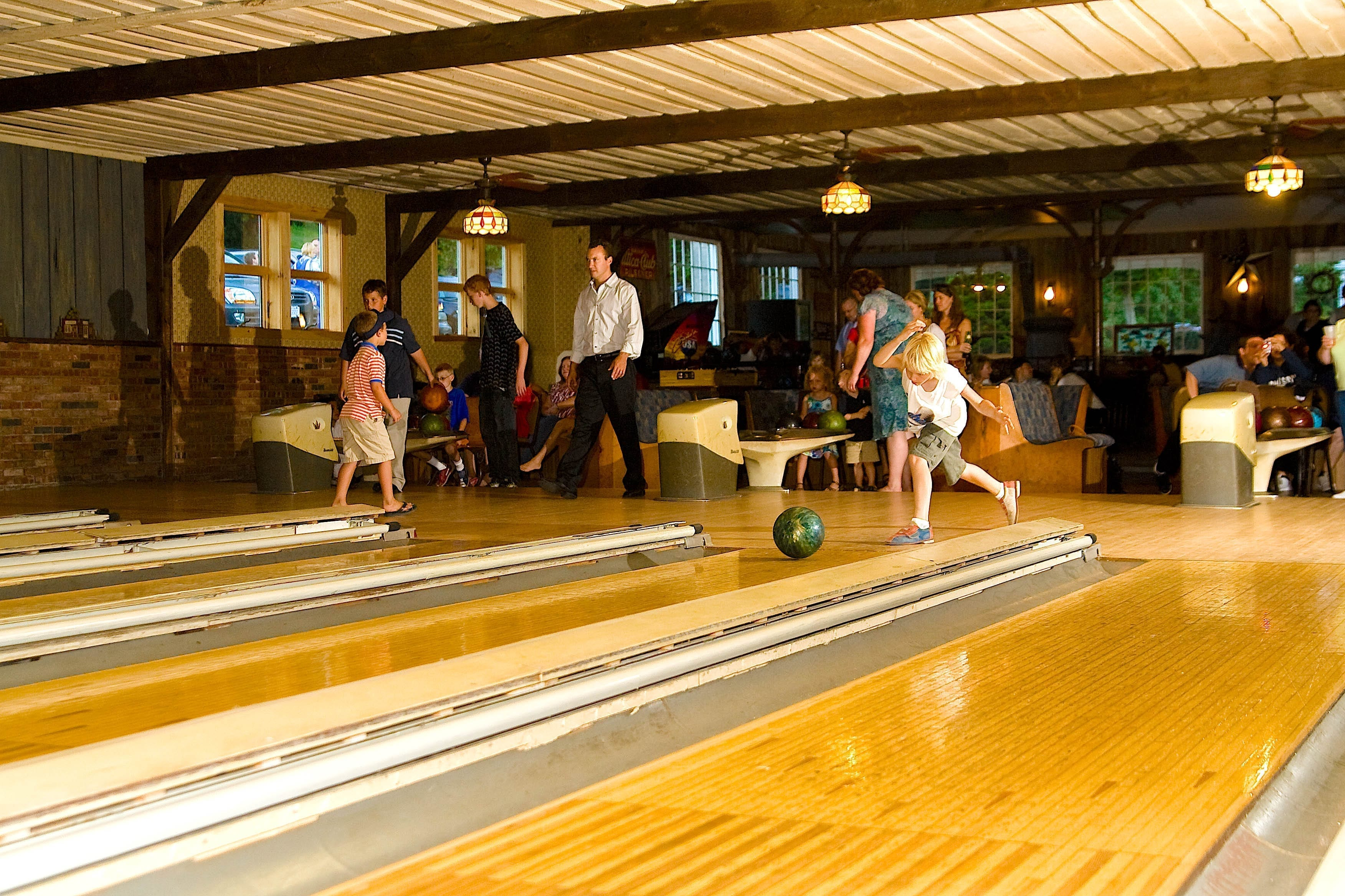 Family fun at a catskill resort