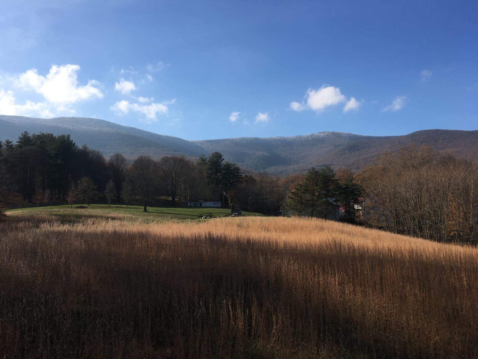 Catskills Mountains in fall